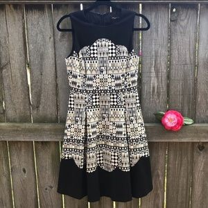 J. McLaughlin Jacquard dress